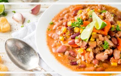 Chili sin carne – Bunte Bohnenpfanne