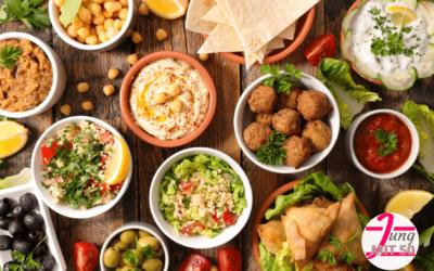 Falafel mit Joghurtsauce – Leckeres gesundes, pflanzliches Protein