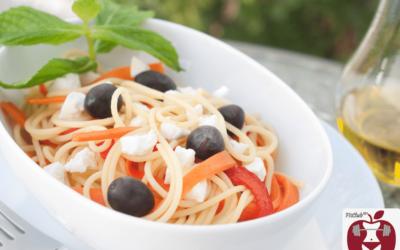Möhren-Oliven-Pasta für deine Schönheit und dein Immunsystem