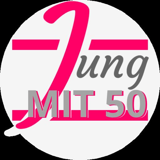 Jung mit 50
